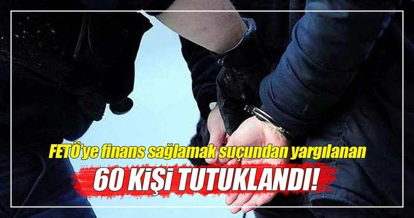 Elbistan'da 60 FETÖ üyesi tutuklandı