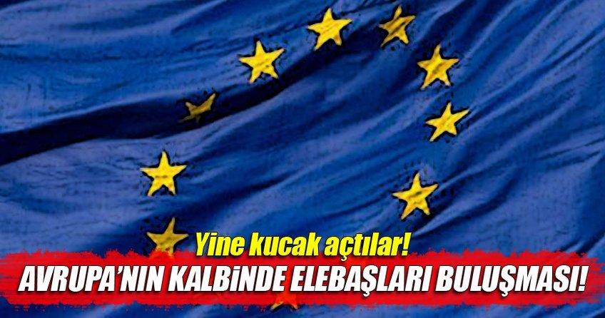 Avrupa teröristleri bir kez daha bağrına bastı!