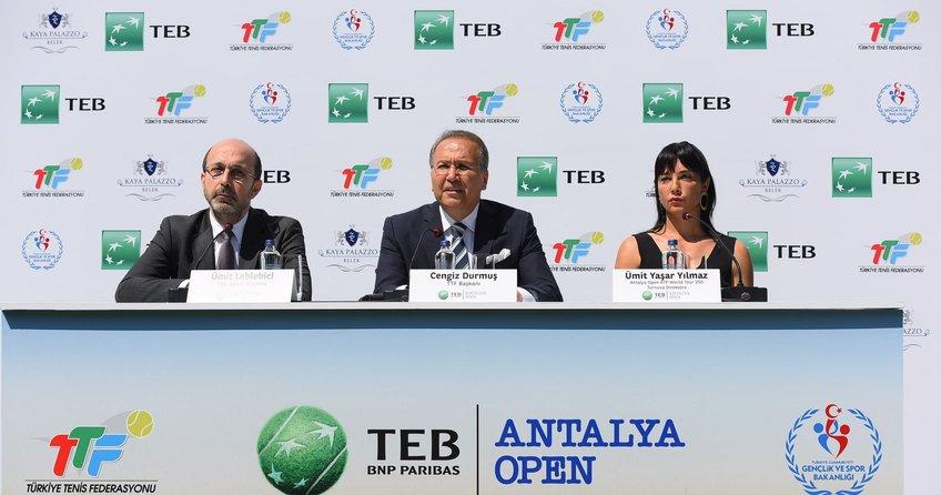 TEB'le Antalya Open Heyecanı Başlıyor