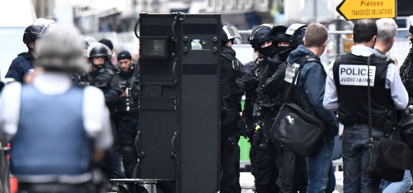 TWO HOSTAGES FREED, MAN ARRESTED AFTER SIEGE IN PARIS