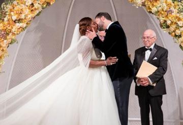 İşte Serena Williams'ın düğünü