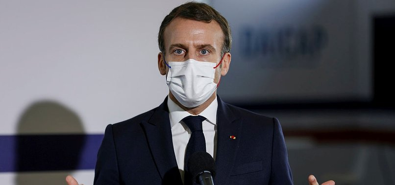 MACRON ADMITS 'THERE ARE POLICE WHO ARE VIOLENT'