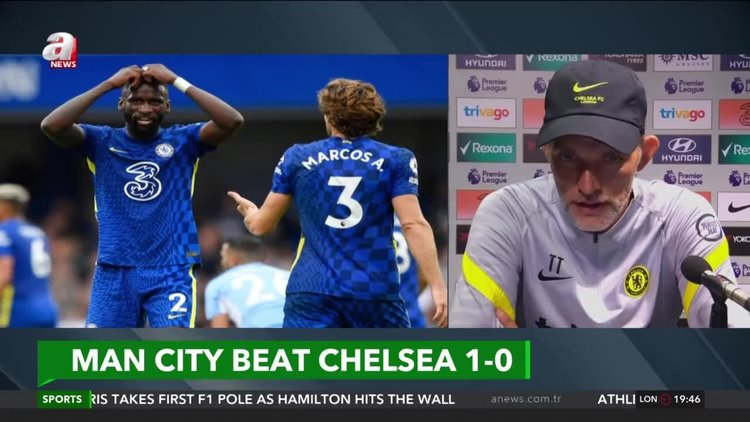 We weren't good enough, says Tuchel after Chelsea loss to Man City