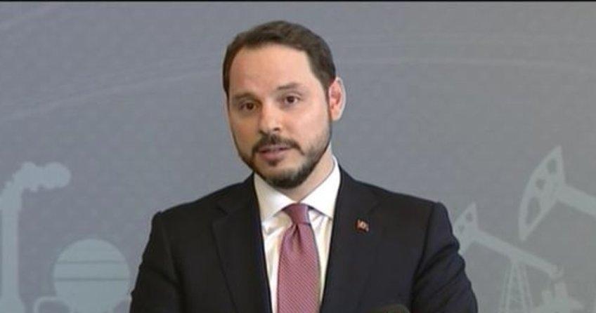 Enerji ve Tabii Kaynaklar Bakanı Berat Albayrak'tan önemli açıklamalar