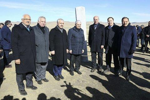 turkish-premier-visits-orkhon-inscriptio