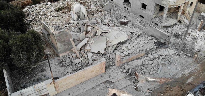 ASSAD REGIME, RUSSIAN AIRSTRIKES KILL 6 CIVILIANS IN SYRIAS IDLIB