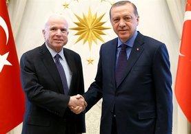 Cumhurbaşkanı Erdoğan ile McCain'in gündemi PYD ve Rakka