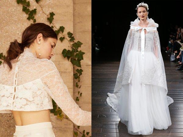 7f7e78a657165 Monique Lhuillier'den Rime Arodaky'ye kadar birçok tasarımcının  koleksiyonunda omuzları açıkta bırakan romantik gelinlik modellerini  görebilirsiniz.