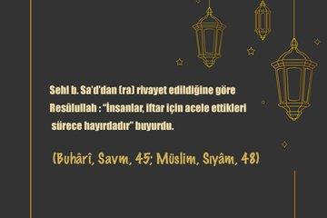 Ramazan ile ilgili hadisler... Ramazan ayı ve oruç ile ilgili hadisler...