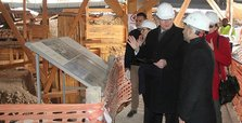 EU delegation visits world's oldest temple in Turkey