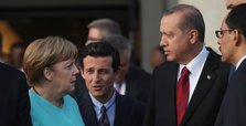 Erdoğan, Merkel discuss E. Med. issue over phone