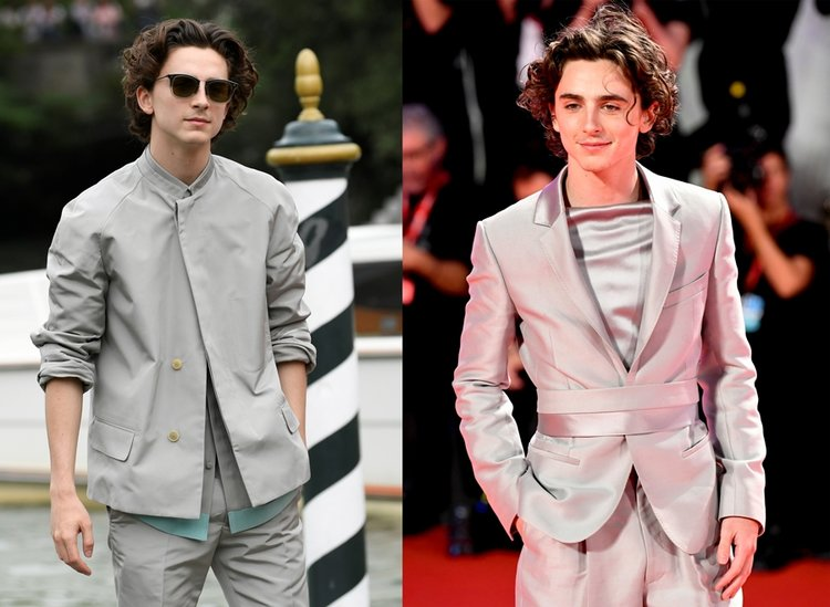 Timothee Chalamet'in Venedik stili