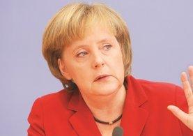 İsrail'e Angela Merkel şoku