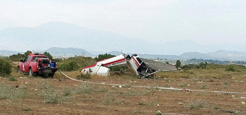 TRAINING PLANE CRASH IN TURKISH MEDITERRANEAN KILLS 2