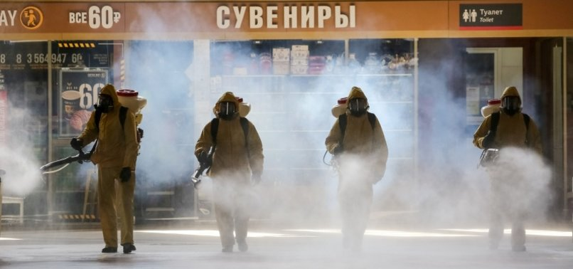 RUSSIA REPORTS 9,434 NEW CORONAVIRUS INFECTIONS