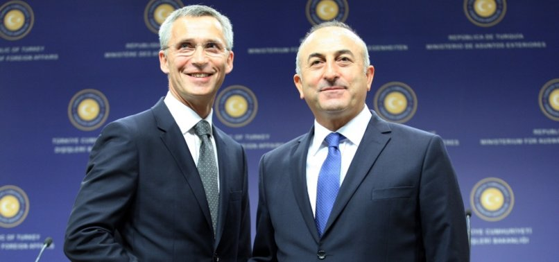 TURKISH TOP DIPLOMAT, NATO CHIEF DISCUSS EAST MED AND KARABAKH ISSUES IN PHONE CALL