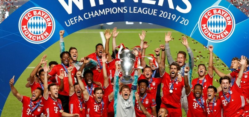 bayern munich win sixth uefa champions league title anews bayern munich win sixth uefa champions