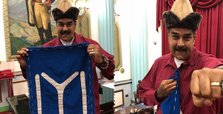 Maduro wears clothes of history-themed Turkish TV series Diriliş Ertuğrul