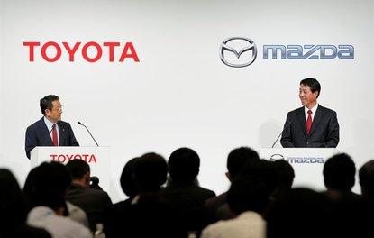 Toyota, ABDde Mazda ile ortak 1.6 milyar dolarlık yatırım yaparak fabrika kuracak