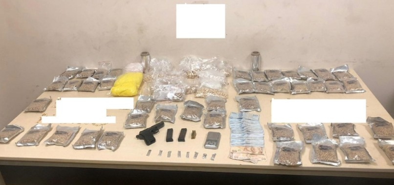 TURKISH POLICE SEIZE 49,854 DRUG PILLS, METH IN ANTI-NARCOTICS OPERATION IN SOUTHEASTERN GAZIANTEP PROVINCE