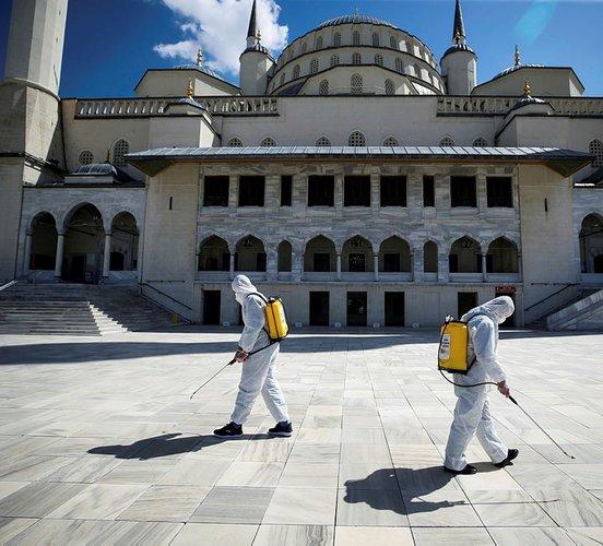 Turkey reports over 55,800 new coronavirus cases