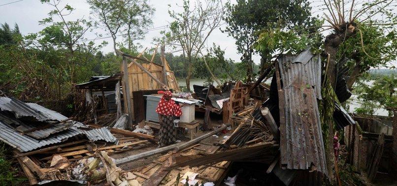 FLOODS, RAIN HIT INDIA, BANGLADESH IN WAKE OF STORM; 24 DEAD