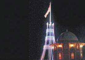 Türkiye'deki en yüksek bayrak anıtı Yozgat'ta!