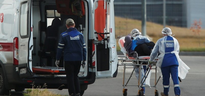 RUSSIA REPORTS 14,922 NEW CORONAVIRUS CASES, 279 DEATHS