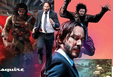 Keanu Reeves çizgi roman oldu