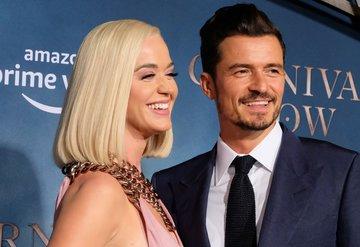 Katy Perry ve Orlando Bloom Carnival Row galasına damga vurdu