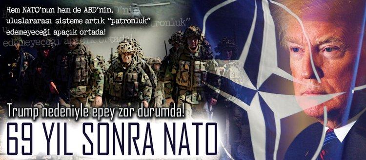 69 yıl sonra NATO: Trump nedeniyle epey zor durumda!