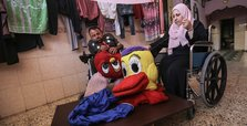 Disabled Gaza couple make dolls to give children 'decent life'