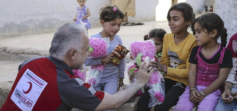 TURKEY REMAINS MOST GENEROUS DONOR OF HUMANITARIAN AID