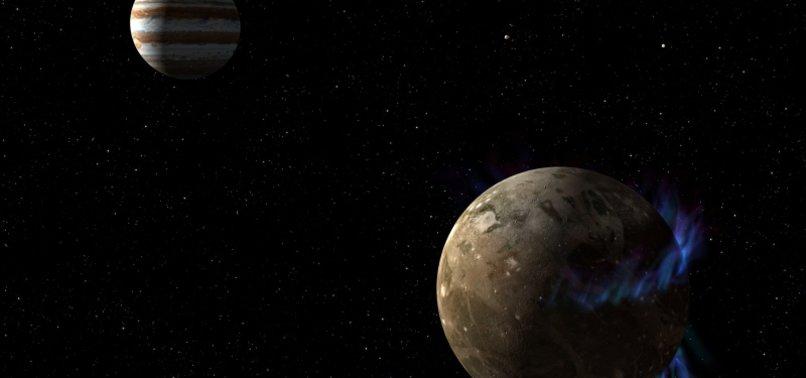 Water vapor found on Jupiters moon Ganymede