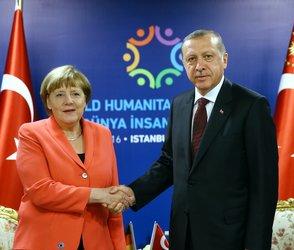 President Erdoğan, Chancellor Merkel hold video call