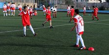 Turkish, Syrian children make friends through football