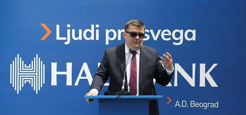 TURKEYS HALKBANK OPENS 34TH BRANCH IN SERBIA