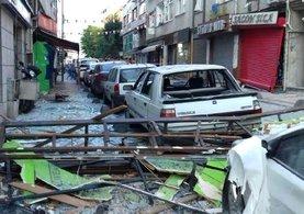 İstanbul Bakırköy'de korkutan patlama!