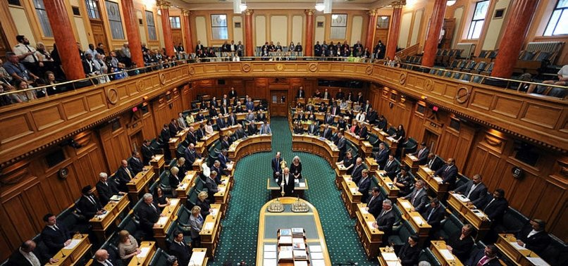 NEW ZEALAND PARLIAMENT VOTES TO BAN SEMI-AUTOMATIC WEAPONS