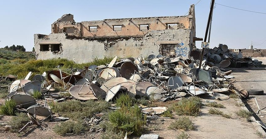 Havicede gizlenen 40 DEAŞ militanı öldürüldü