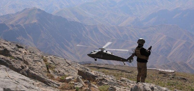 5 PKK TERRORISTS NEUTRALIZED IN NORTHERN IRAQ, EASTERN TURKEY
