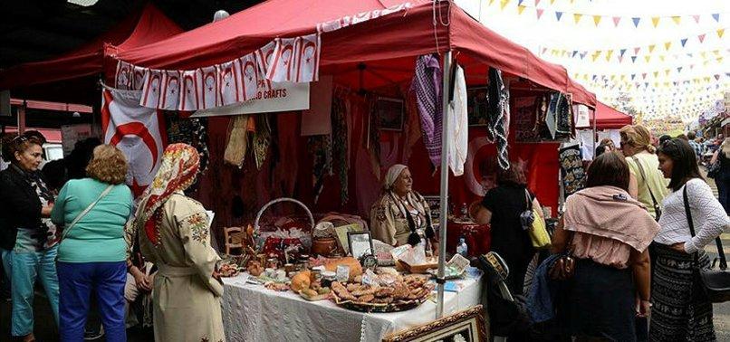 TURKISH BAZAAR FESTIVAL IN MELBOURNE ATTRACTS PEOPLE