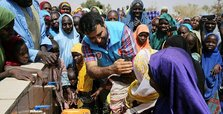 Turkish charity foundation builds water wells in Africa