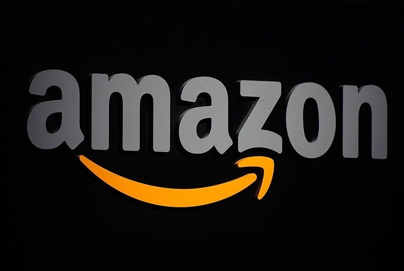 This September 28, 2011 file photo shows the Amazon logo during a press conference in New York. (AFP Photo)