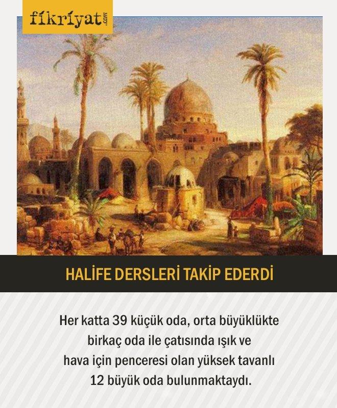 HALİFE DERSLERİ TAKİP EDERDİ