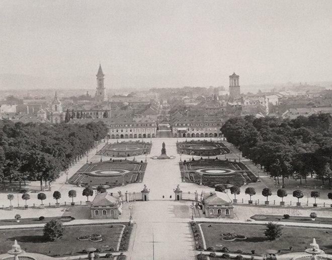 Karlsruhe'nin genel görüntüsü