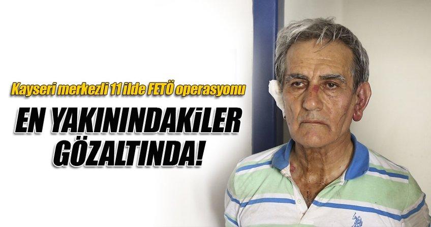 Kayseri merkezli FETÖ operasyonunda 79 gözaltı