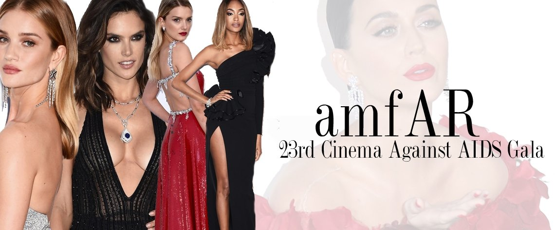 Geçtiğimiz akşam, 69. Cannes Film Festivali kapsamında, amFAR AIDS`e Karşı Sinema Gecesi gerçekleştirildi. Kırmızı halısında; Katy Perry, Doutzen Kroes, Adriana Lima, Heidi Klum gibi gecede, yüklü miktarda bağış toplandı.