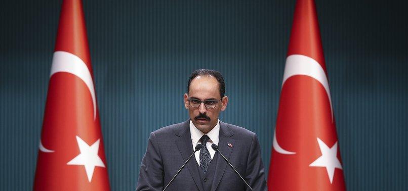 TURKEY TO MAINTAIN PARTNERSHIP OF F-35 TECHNOLOGY: ERDOĞAN AIDE