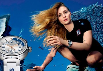 Louis Vuitton En Son Üyesi: Tambour Street Diver
